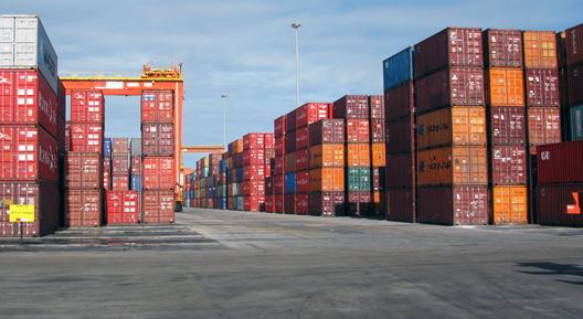 No primeiro semestre de 2020, o sistema portuário nacional movimentou 538,8 milhões de toneladas